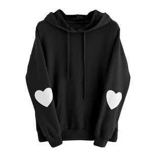 So Kawaii Shop Black / XXL Kawaii Sweetheart Hoodie 24422058-black-xxl