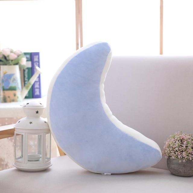 So Kawaii Shop blue moon 45x20cm Pastel Moonchild Pillows 19744073-blue-moon-45x20cm
