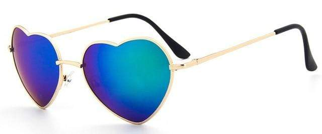 So Kawaii Shop blue ultraviolet Oversized Heart Sunglasses FREE SHIPPING! 20139639-c8