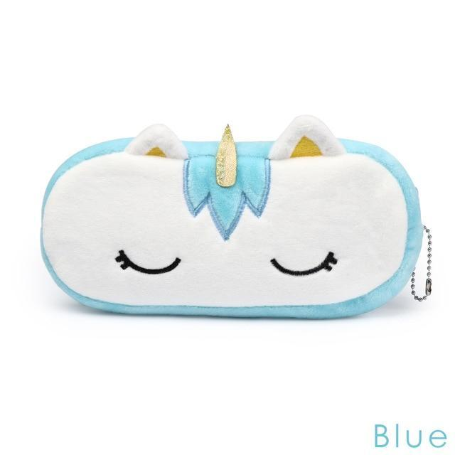 So Kawaii Shop Blue Unicorn Plush Organizer 25462649-blue