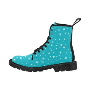 interestprint Boots The Kawaii Aqua Superstars Black Martin Boot
