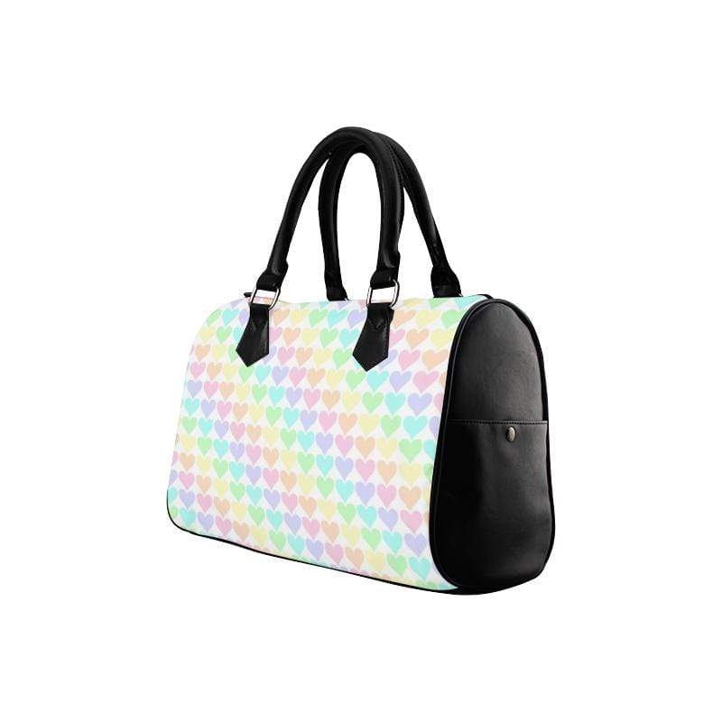 e-joyer Boston Handbags (1621) One Size The Kawaii Pastel Hearts Boston Bag D3814153