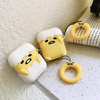 So Kawaii Shop Kawaii Gudetama Apple Air Pods Case