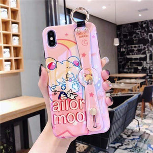 So Kawaii Shop For iPhone 11 Pro / Lavender Sailor Moon & Sakura CardCaptor Cases for iPhone 27702605-for-iphone-11-pro-lavender