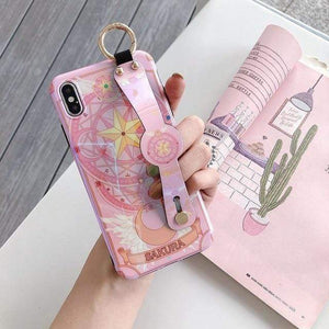 So Kawaii Shop For iPhone 11 Pro / Pink Sailor Moon & Sakura CardCaptor Cases for iPhone 27702605-for-iphone-11-pro-pink