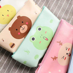 Salmon Sooty Gifts Newest Cute Animal Pencil Case