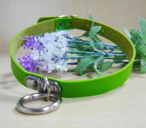 So Kawaii Shop Green Kawaii Sexy Punk Goth Choker 6979946-green