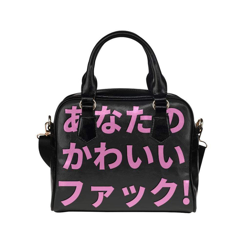 interestprint handbags One Size The F%*k Your Kawaii Handbag D1318275