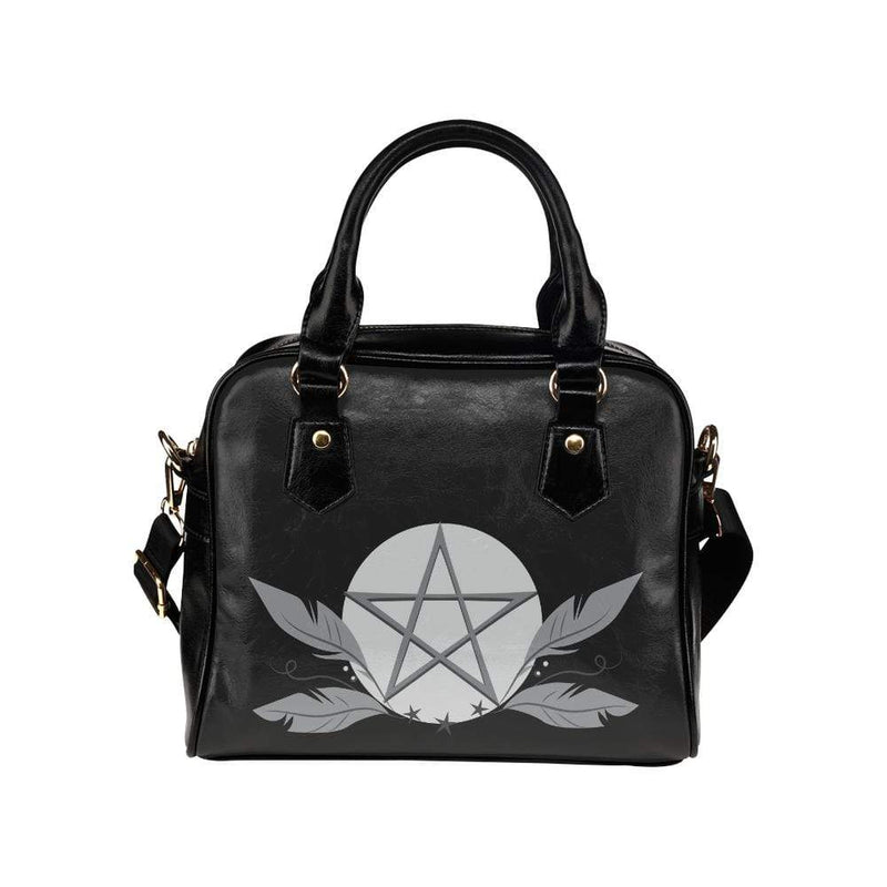 interestprint handbags One Size The Feather and Star Handbag D1318285