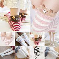 So Kawaii Shop Harajuku Kawaii Animal Thigh High Socks