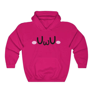 Printify Hoodie Heliconia / S The Uwu Oversized Hoodie 875971615