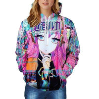So Kawaii Shop Japan Anime Hatsune Miku Hoodie
