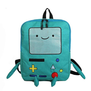 So Kawaii Shop Kawaii Adventure Time Inspired BMO Backpack 20172792-blue