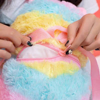 So Kawaii Shop Kawaii Alpaca Plush Backpack
