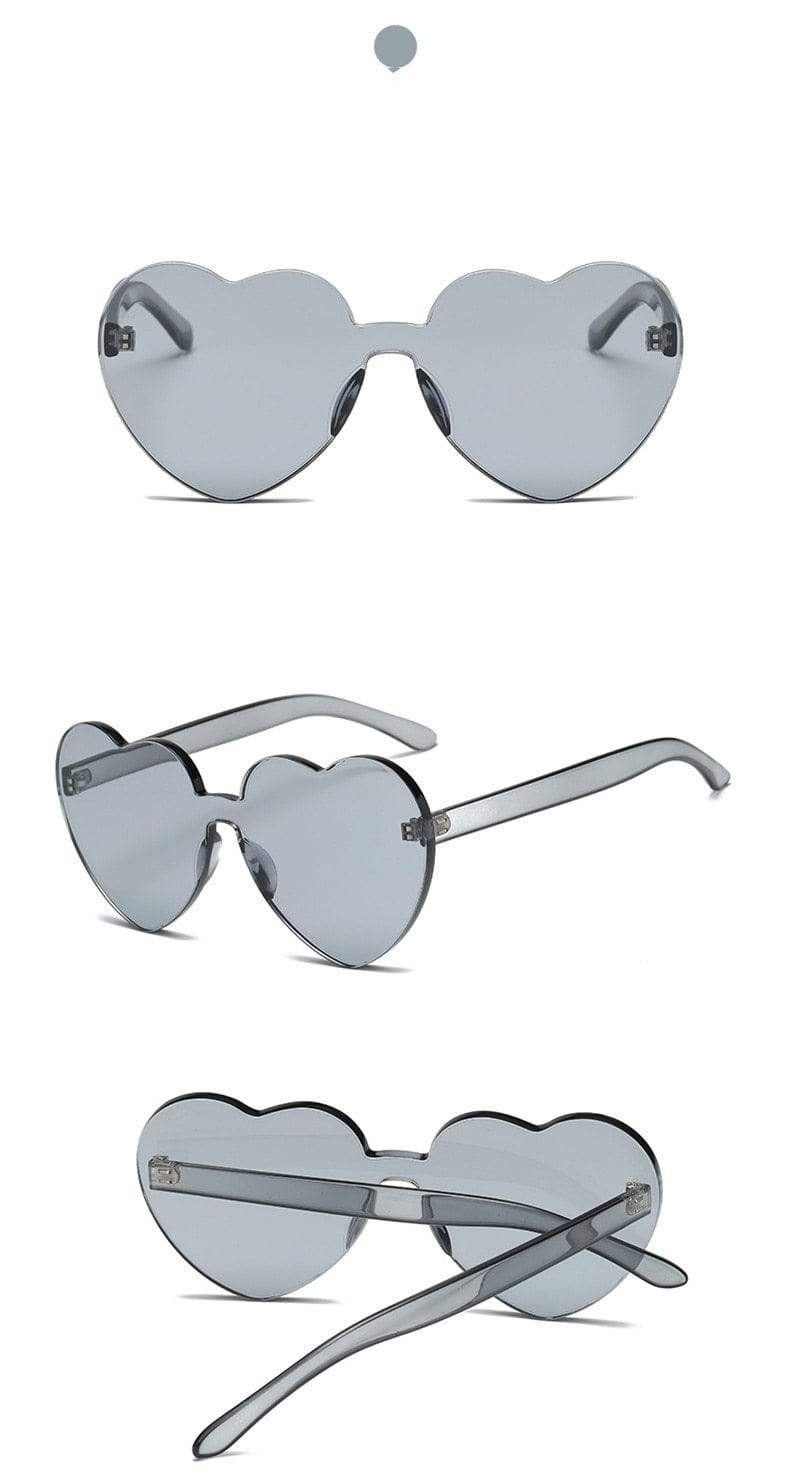 So Kawaii Shop Kawaii Candy Love Heart Sunglasses