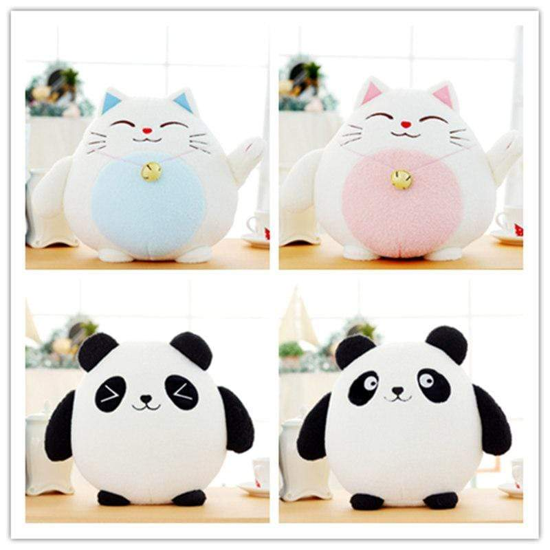So Kawaii Shop Kawaii Fortune Kitty Plush or Panda Plush