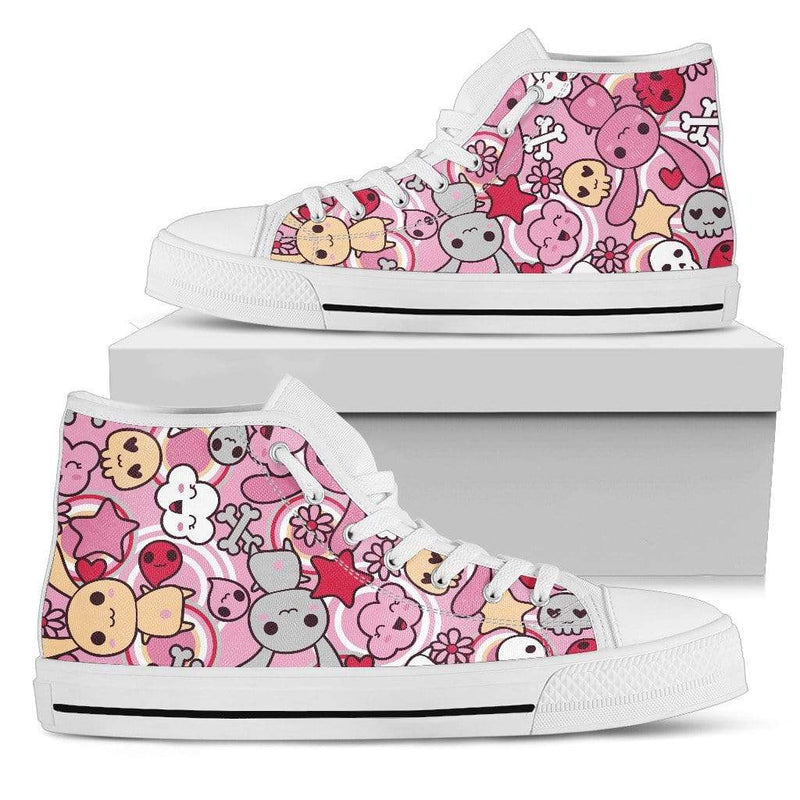 So Kawaii Shop Kawaii Goth Bunny Sneaker High