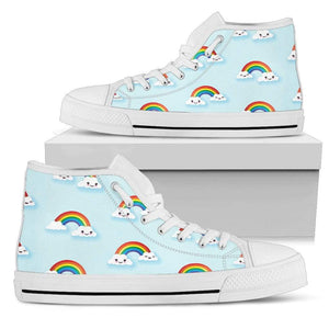 So Kawaii Shop Kawaii Happy Rainbows Light High Sneaker