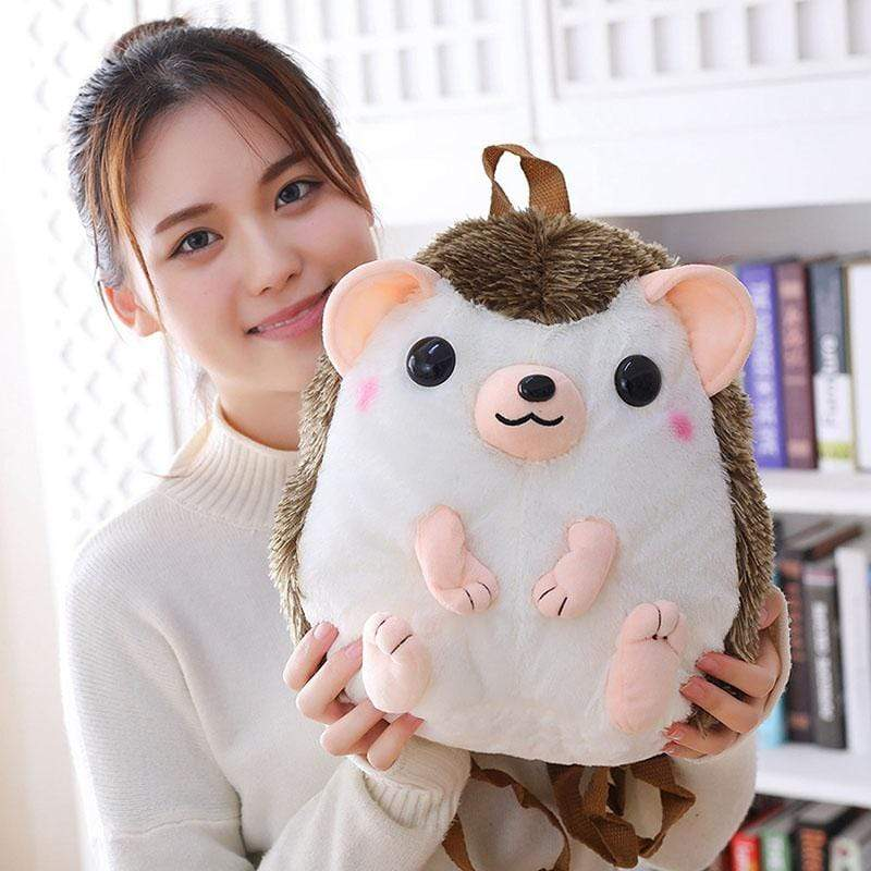 So Kawaii Shop Kawaii Hedgehog Plush Backpack