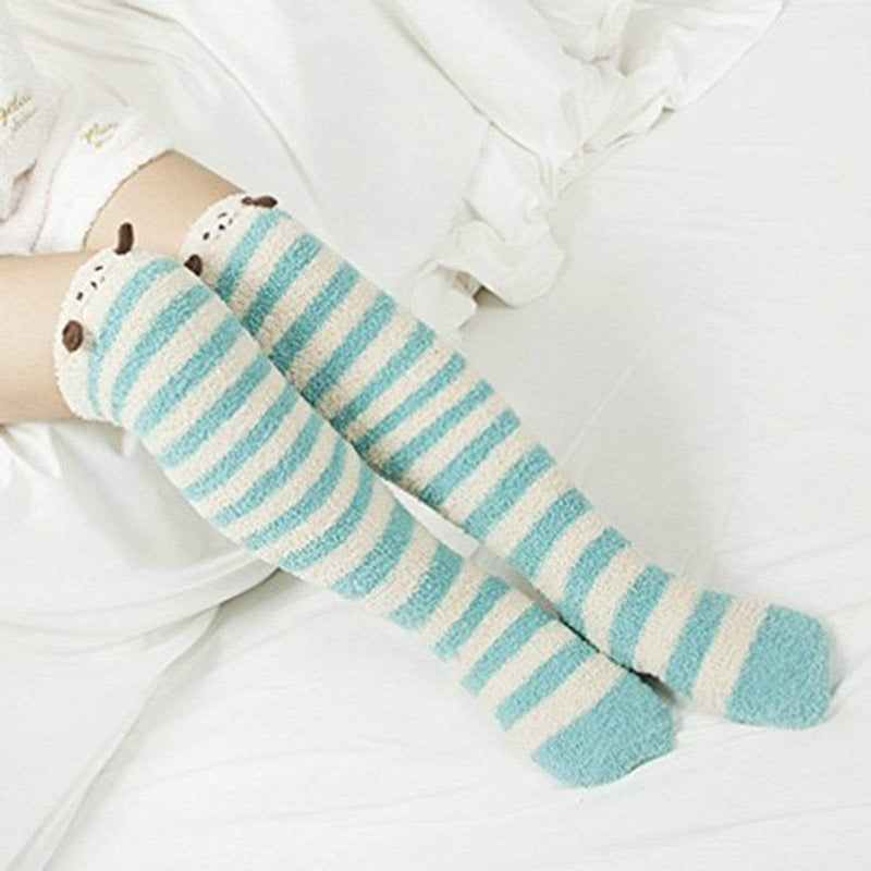 So Kawaii Shop Kawaii Japanese Animal Thigh High Socks