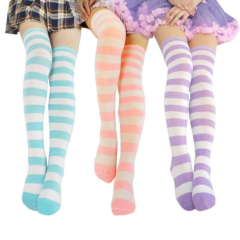 So Kawaii Shop Kawaii Japanese Over the Knee Cosplay Stockings