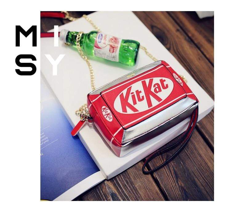So Kawaii Shop Kawaii Kit-Kat Clutch/Crossbody Bag 2239792-picture-color