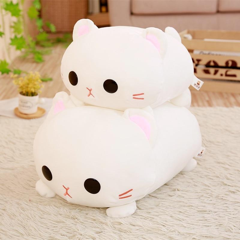 So Kawaii Shop Kawaii Lying Cat Plush Pillow