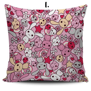 So Kawaii Shop Kawaii Pastel Goth Bunny Cushion 1 Kawaii Pastel Goth Bunny Cushion Series PP.12257768