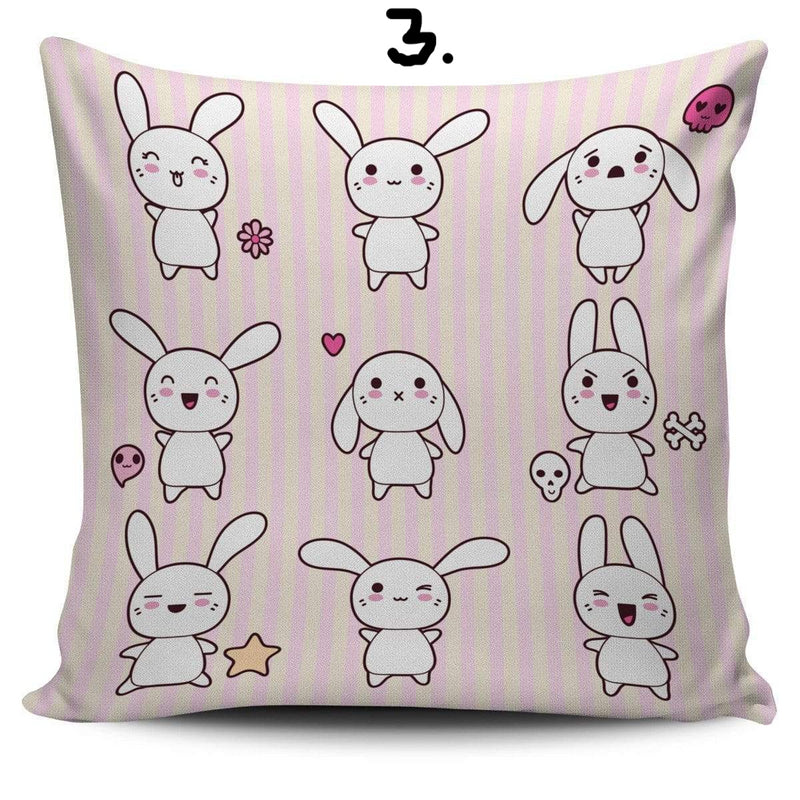 So Kawaii Shop Kawaii Pastel Goth Bunny Cushion 3 Kawaii Pastel Goth Bunny Cushion Series PP.12257770