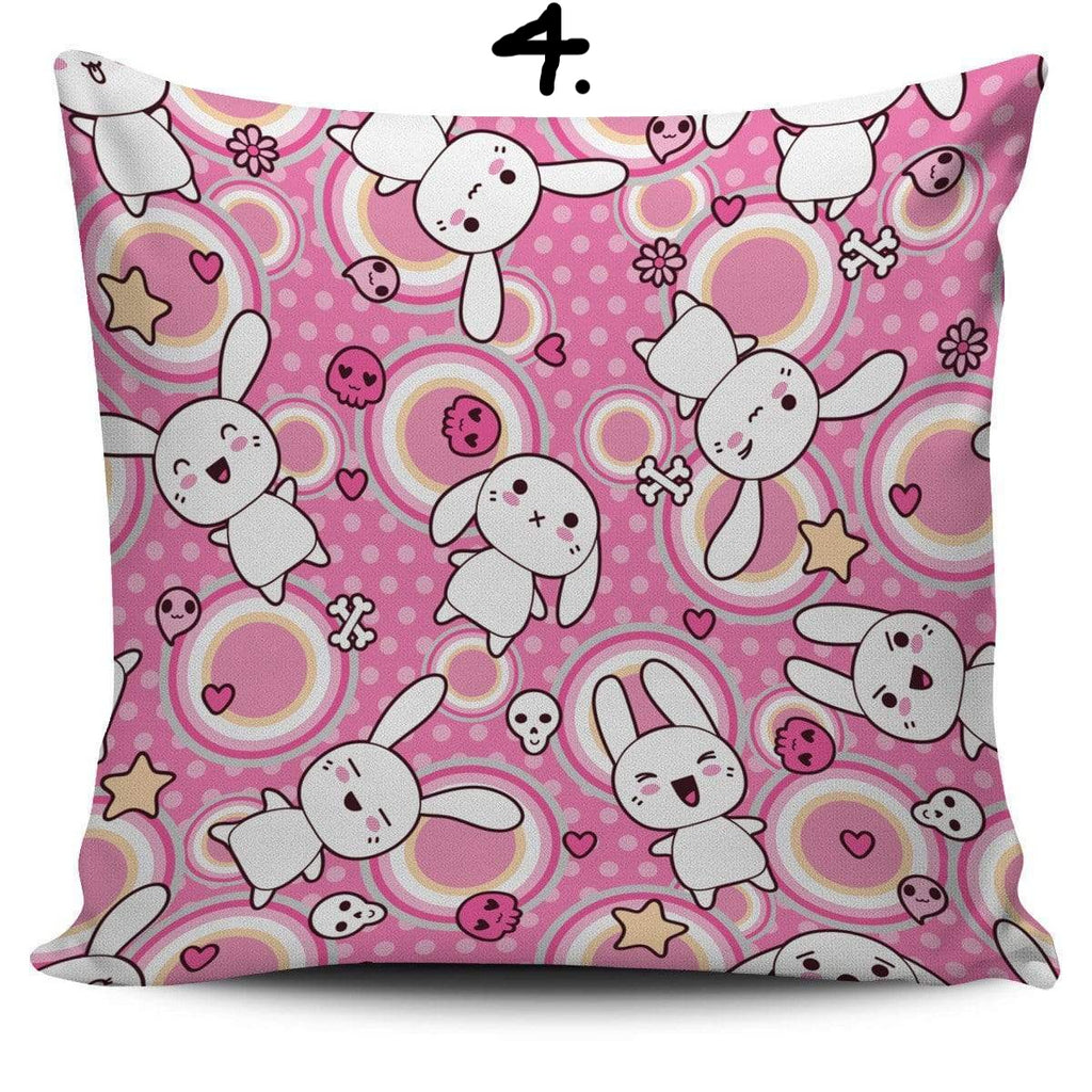 So Kawaii Shop Kawaii Pastel Goth Bunny Cushion 4 Kawaii Pastel Goth Bunny Cushion Series PP.12257771