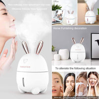 So Kawaii Shop Kawaii Rabbit Ultrasonic Humidifier For Home or Office with LED Night Light