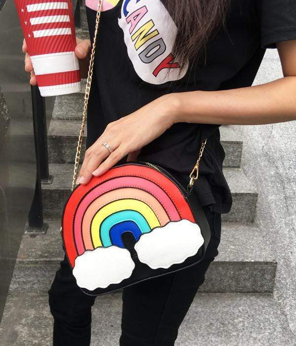 So Kawaii Shop Kawaii Rainbow Handbag