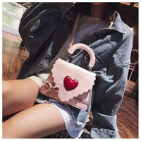 So Kawaii Shop Kawaii Red Heart Elegant Handbag