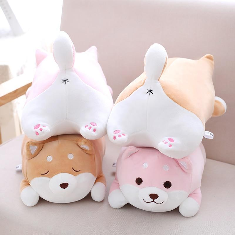 So Kawaii Shop Kawaii Shiba Inu Plush Pillow