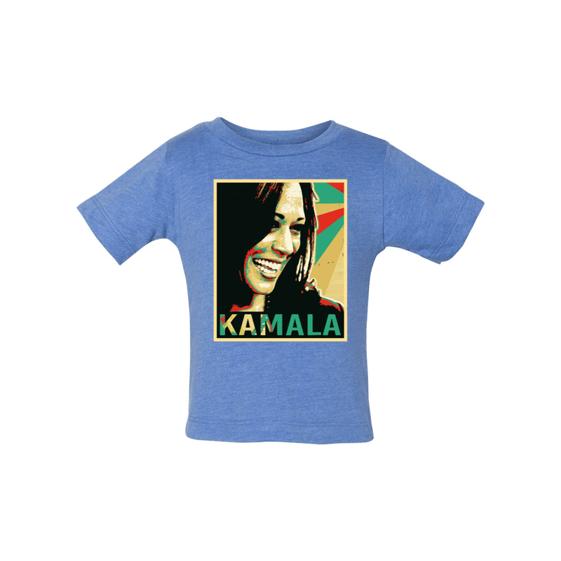 Print Melon Inc. Kids/Babies 12/18 / Heather Columbia Blue kamala baby 367680