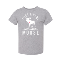 Print Melon Inc. Kids/Babies 2T / Athletic Heather moose toddler 442688