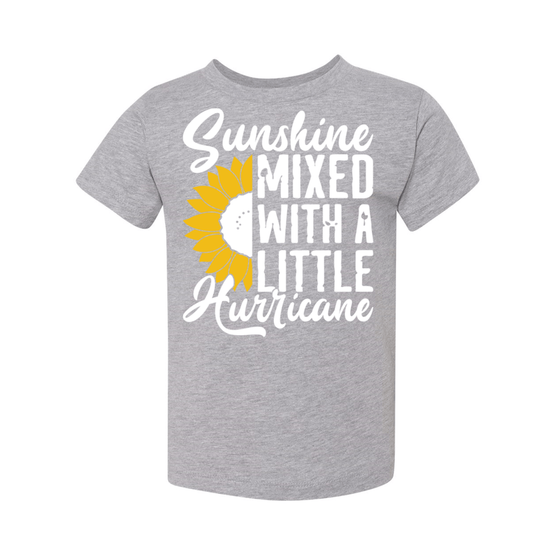 Print Melon Inc. Kids/Babies 2T / Athletic Heather sunshine hurricane toddler 356141