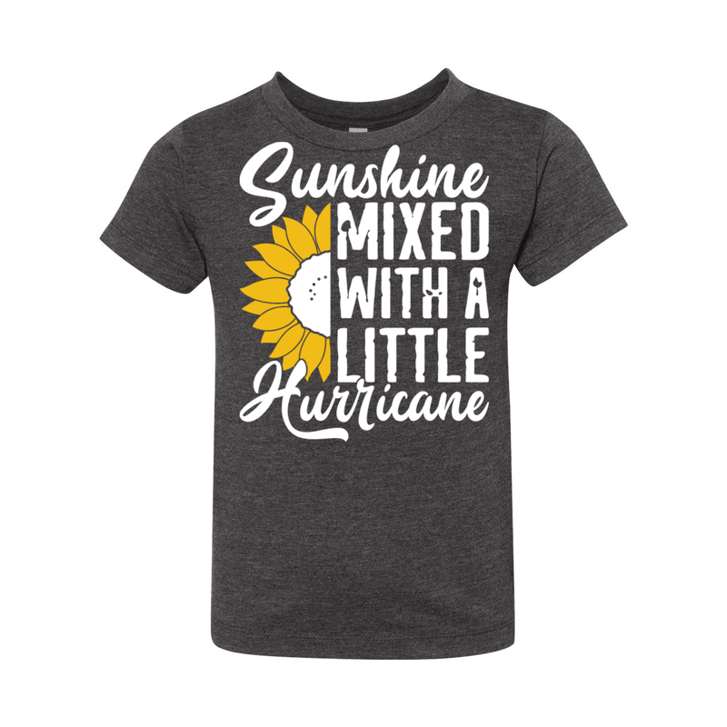 Print Melon Inc. Kids/Babies 2T / Dark Grey Heather sunshine hurricane toddler 356144