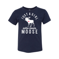 Print Melon Inc. Kids/Babies 2T / Navy moose toddler 442690