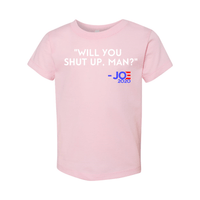Print Melon Inc. Kids/Babies 2T / Pink will you shut up toddler 327960