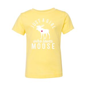 Print Melon Inc. Kids/Babies 2T / Yellow moose toddler 442685