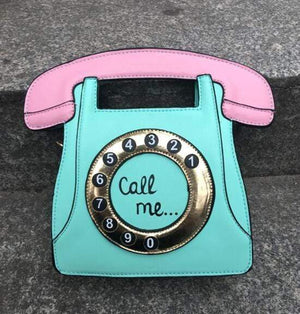So Kawaii Shop Mint / (20cm<Max Length<30cm) Kawaii Retro Phone Handbag 3113783-green-20cm-max-length-30cm