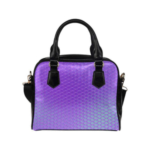 e-joyer One size / Violet Mermaid Scales Bag Shoulder Handbag (Model 1634) Kawaii Iridescent Mermaid Scales Handbag D3841518
