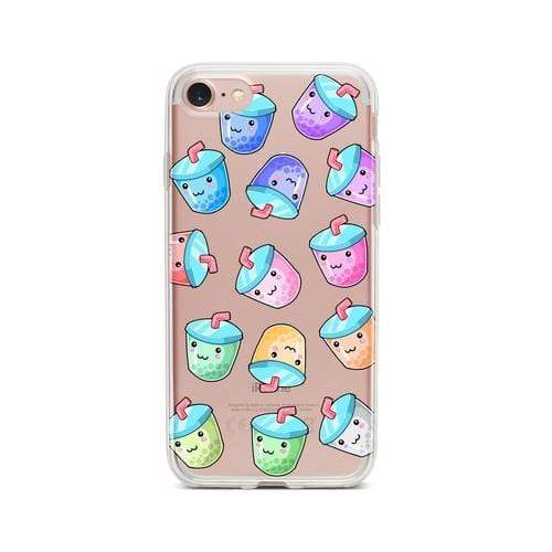 Pisces Other iPhone 5/ 5s/ SE Kawaii Boba - Clear TPU Case Cover IPHONE 5/5s-H888