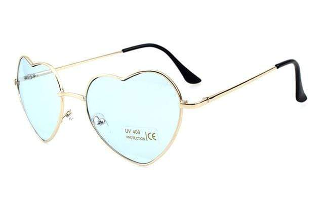 So Kawaii Shop pale mint Oversized Heart Sunglasses FREE SHIPPING! 20139639-c12