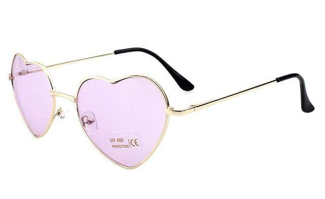 So Kawaii Shop pastel lilac Oversized Heart Sunglasses FREE SHIPPING! 20139639-c14