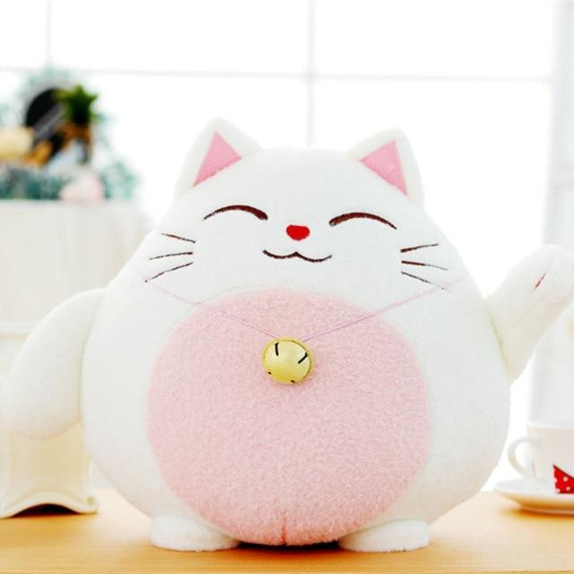 So Kawaii Shop pink cat Kawaii Fortune Kitty Plush or Panda Plush 18415998-pink-cat