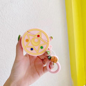 So Kawaii Shop Pink Prism Kawaii Sailor Moon/Luna Cat Cases For Apple Airpods 28067909-pink-prism