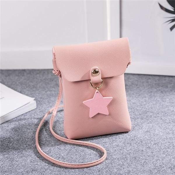 So Kawaii Shop Pink Shoulder Bags The Kawaii Star Mini Messenger Bag 26424825-pink-shoulder-bags