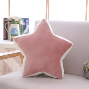 So Kawaii Shop pink star 36x36cm Pastel Moonchild Pillows 19744073-pink-star-36x36cm